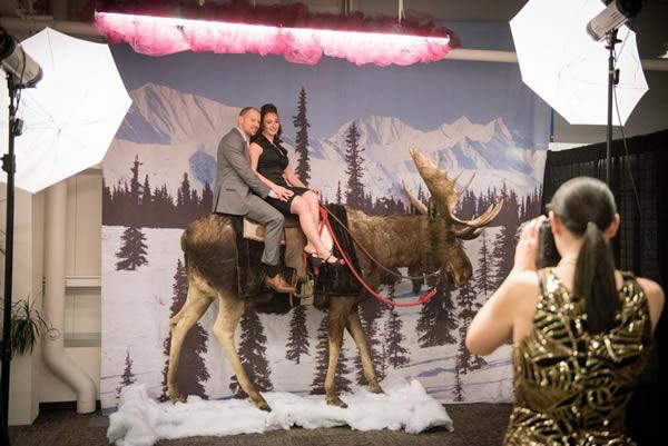 Alaska Moose photo booth add-ons