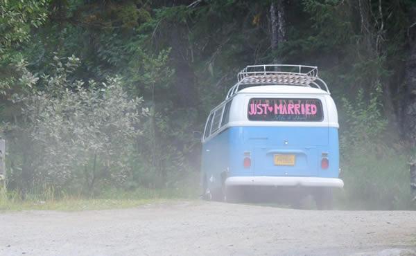 Photo Bus Travels around Alaska
